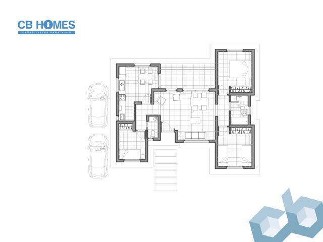 Casa 4 Ambientes - CBH-02