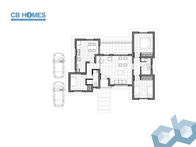 Casa 4 Ambientes - CBH-10
